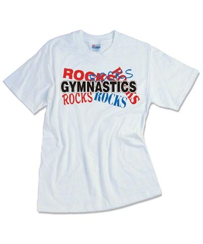 Gymnastics Rocks Tee
