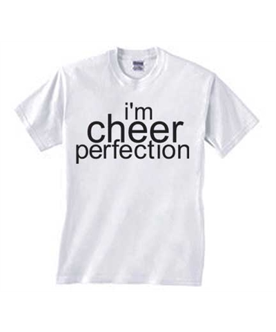 Cheerleader I'm Cheer Perfection Tee