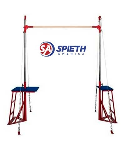 Spieth America Performance Single Bar Trainer Uprights and Decks Only