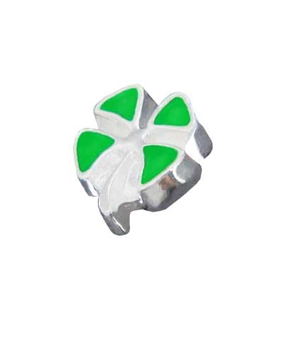 Four-Leaf Clover Floating Charm
