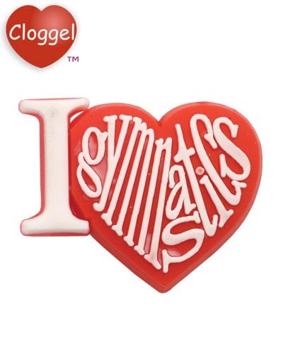 PVC Cloggel™ Love Gymnastics